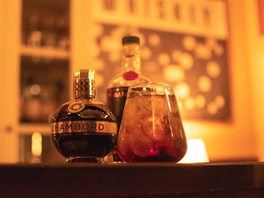 Fidder's Cocktails: Bramble Rose